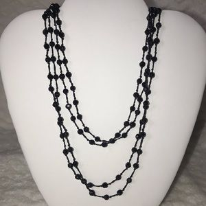 American eagle double strand beaded necklace